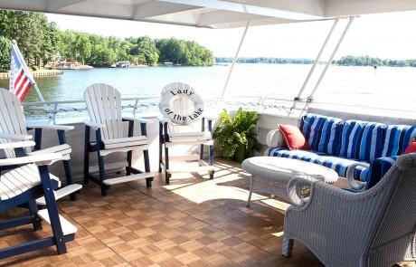 Beautiful Luxury Yacht patio