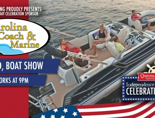 Carolina Coach & Marine Sponsor | Queens Landing's Independence Day Celebrations