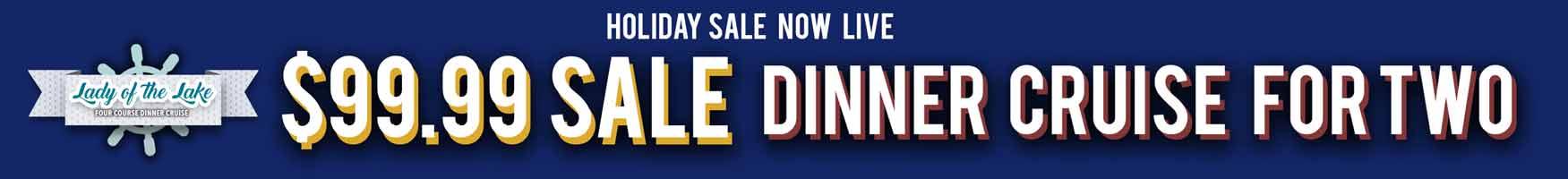 HUGE SAVINGS ON LAKE NORMAN DINNER CRUISES!