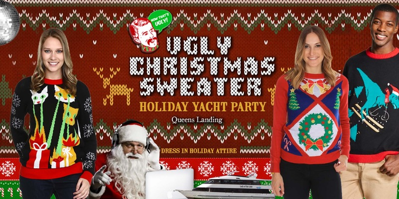 Lake Norman Yacht Parties Ugly Christmas Sweater
