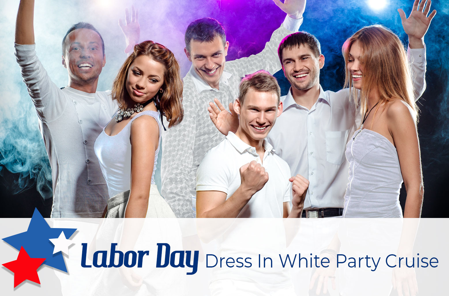Labor Day All White Dress Party Cruise