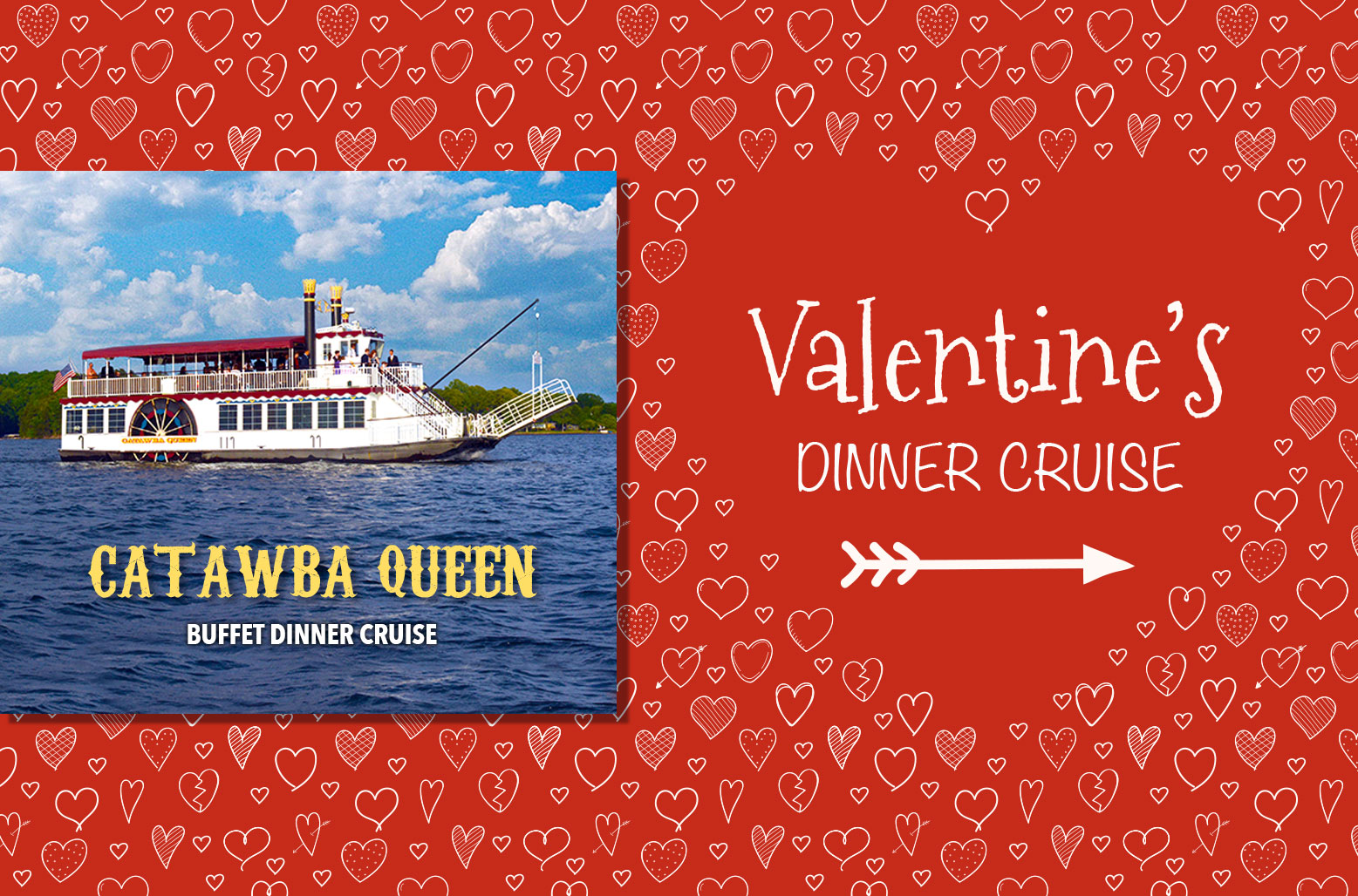 "Valentine's Dinner Cruise ""Catawba Queen"""